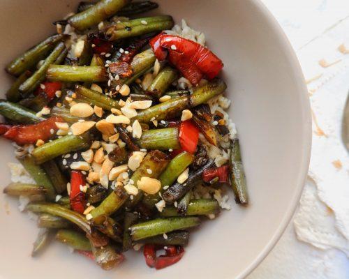 постен фасул с тамари китайска азиатска рецепта