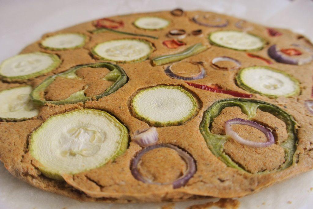 Безглутенова Зеленчукова Питка от Нахут Фарината