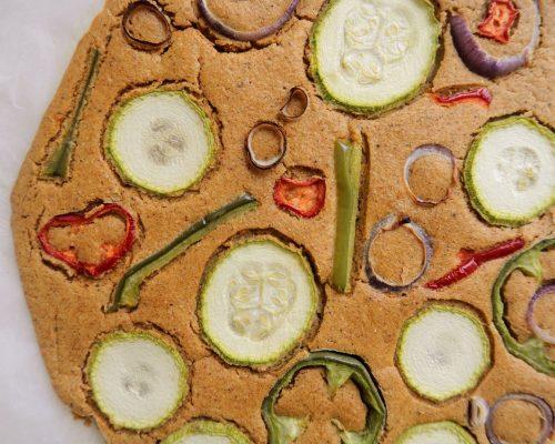 Зеленчукова Питка от Нахут Фарината