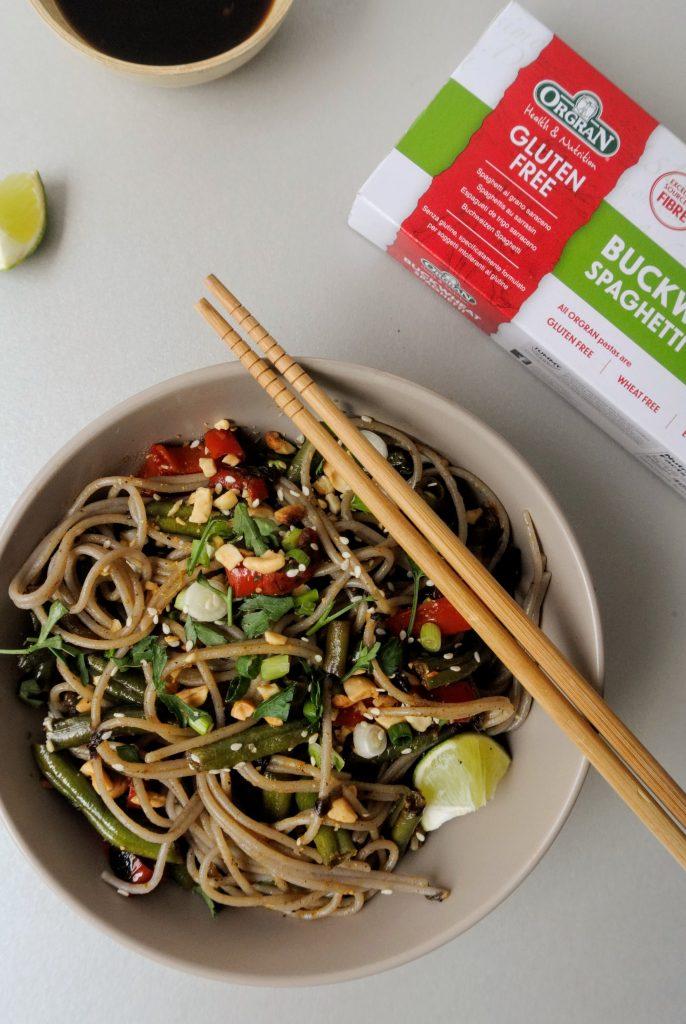 рецепта с елдени нудели азиатска