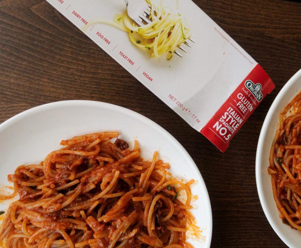 Паста арабиата веган италиански сос