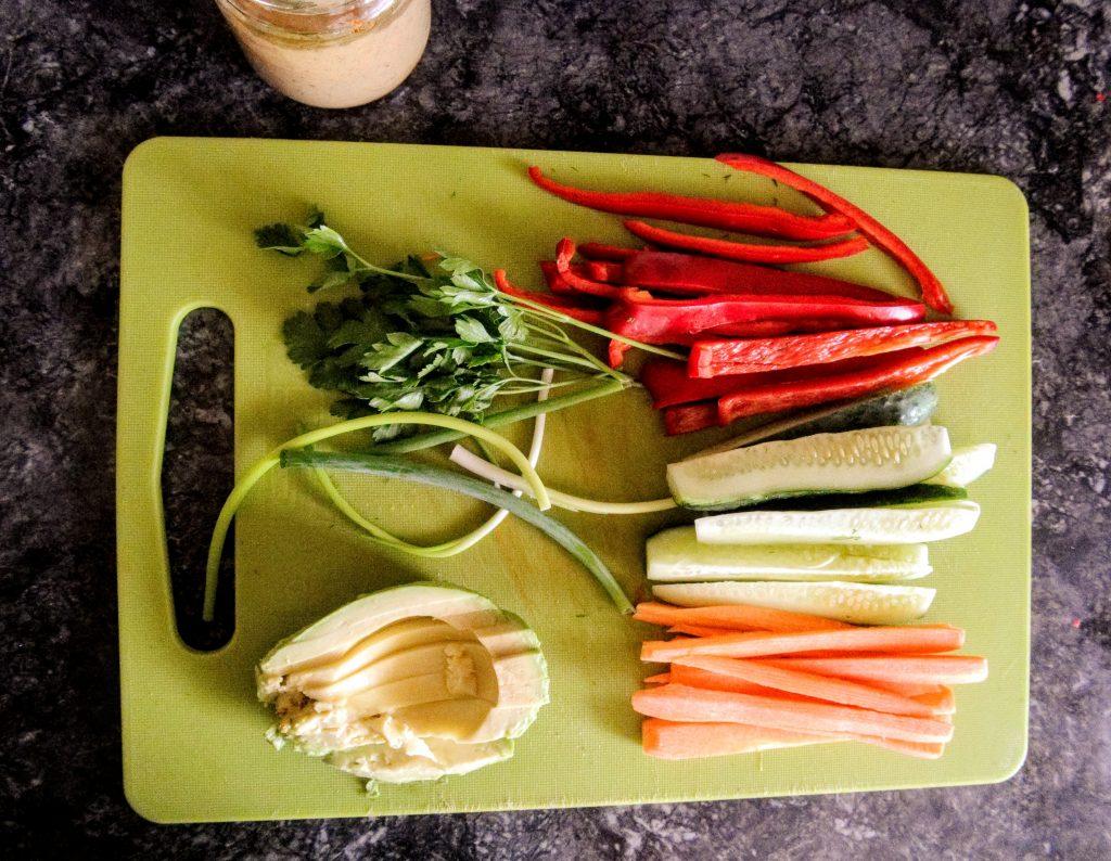 зеленчуци за рап