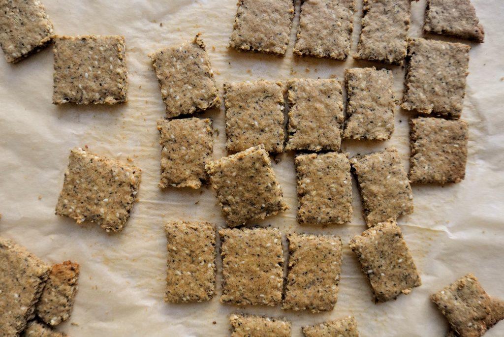 лесна рецепта за постни крекери от лимец