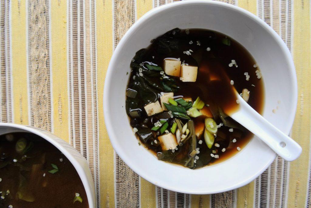 мизо супа японска рецепта постна