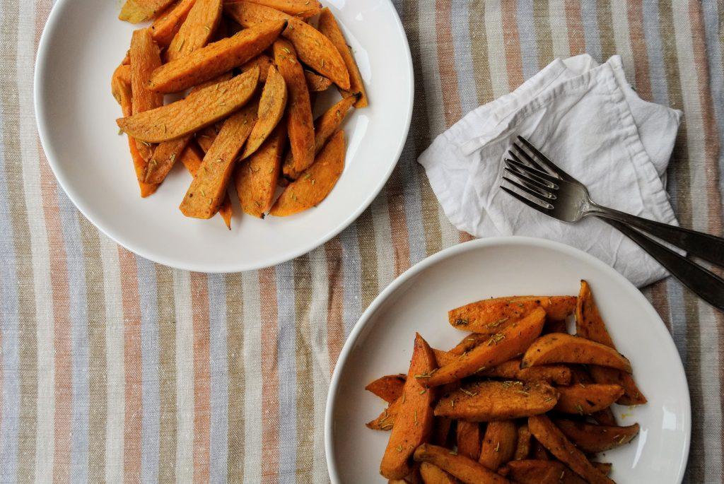 Домашни уеджис сладък картоф
