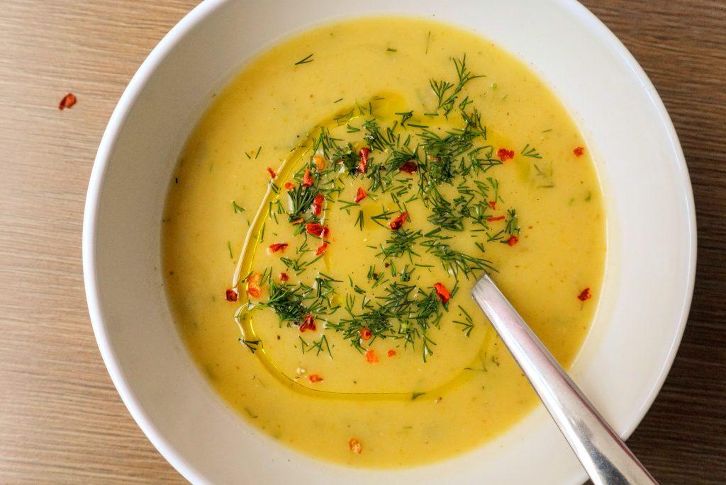 крем супа от тиквички постна лесна рецепта веган