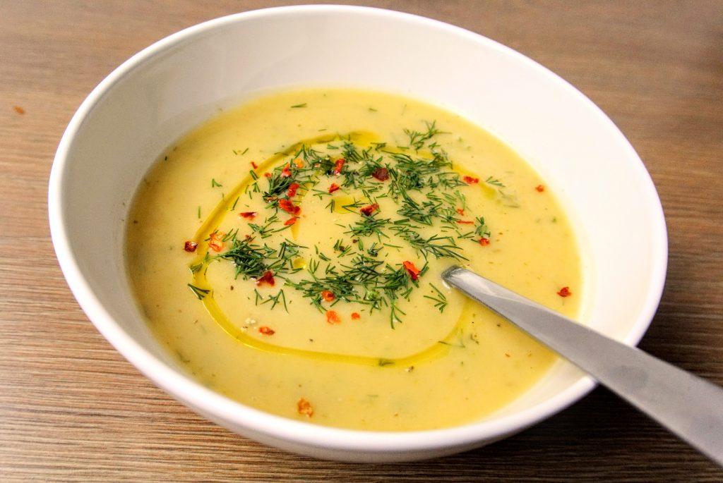 постна крем супа от тиквички