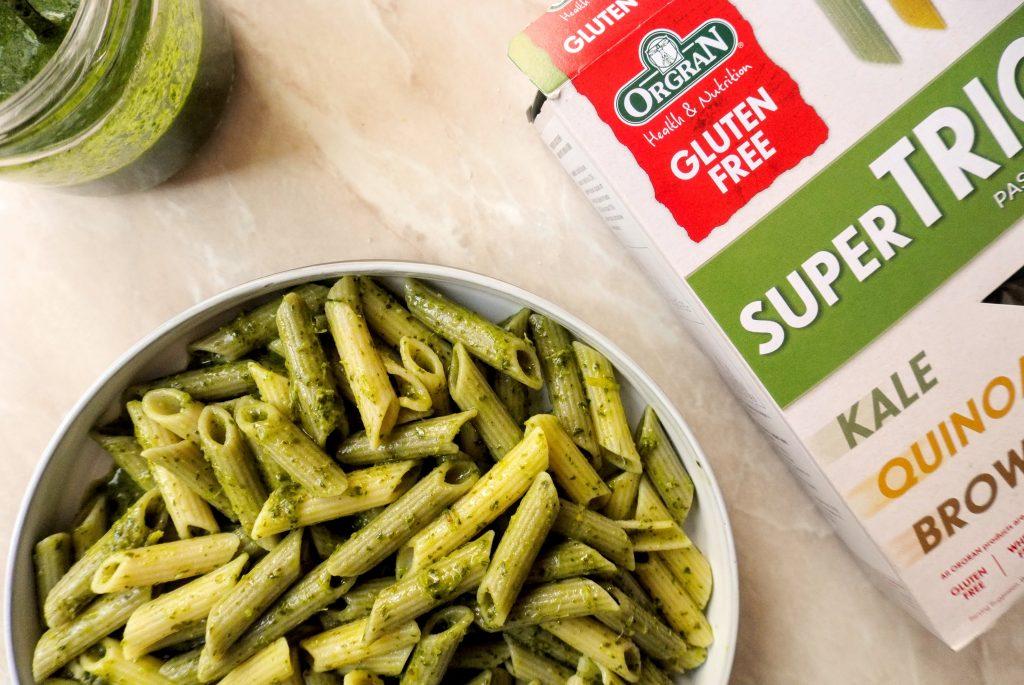 гремолата паста зелен сос